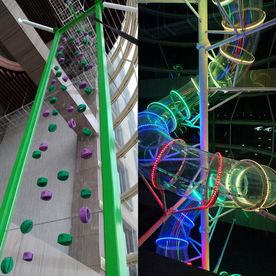 飛天彩虹滑梯
